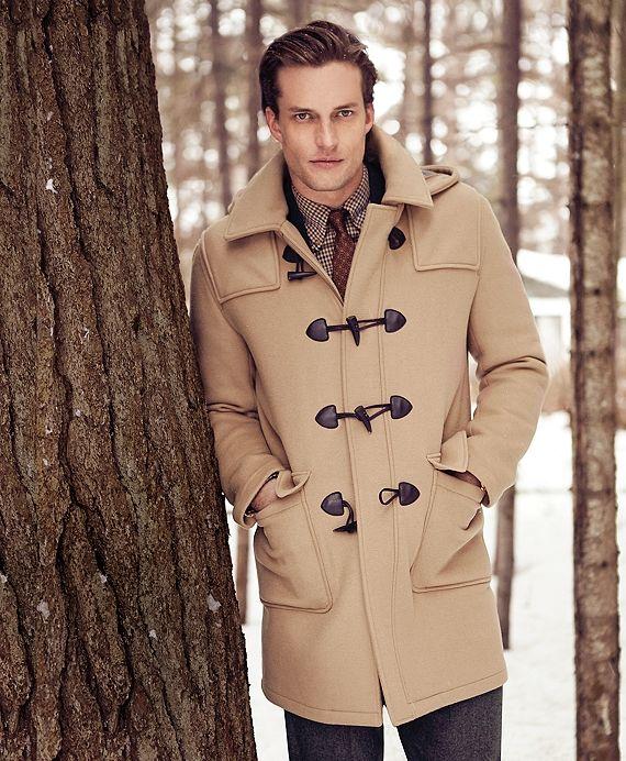 Men's Wool Duffle Coat | Duffle coat