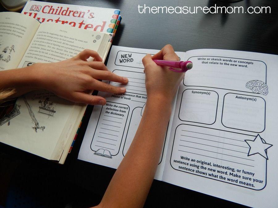 vocabulary journal 2