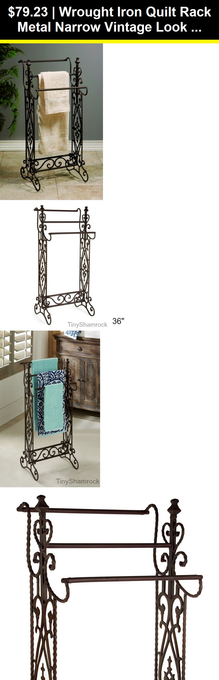 Quilt Hangers And Stands 83959 Wrought Iron Quilt Rack Metal
