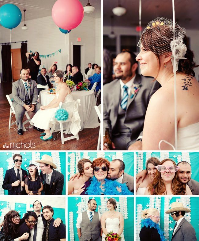 Real Wedding: Sarah + Jaime's Fun Modern Wedding