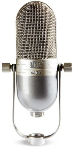 MXL V400 Dynamic Microphone in a Vintage Style Body, Grey