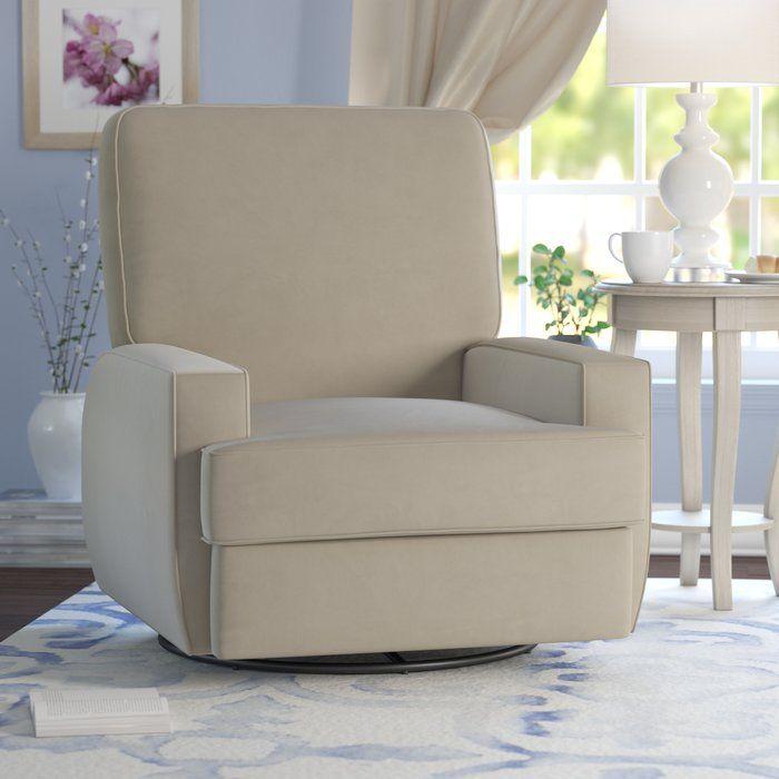 Aisley Reclining Glider Recliner Furniture Glider Ottoman
