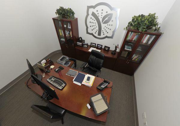 Desk of Phillip Chang, Yogurtland, Irvine, CA