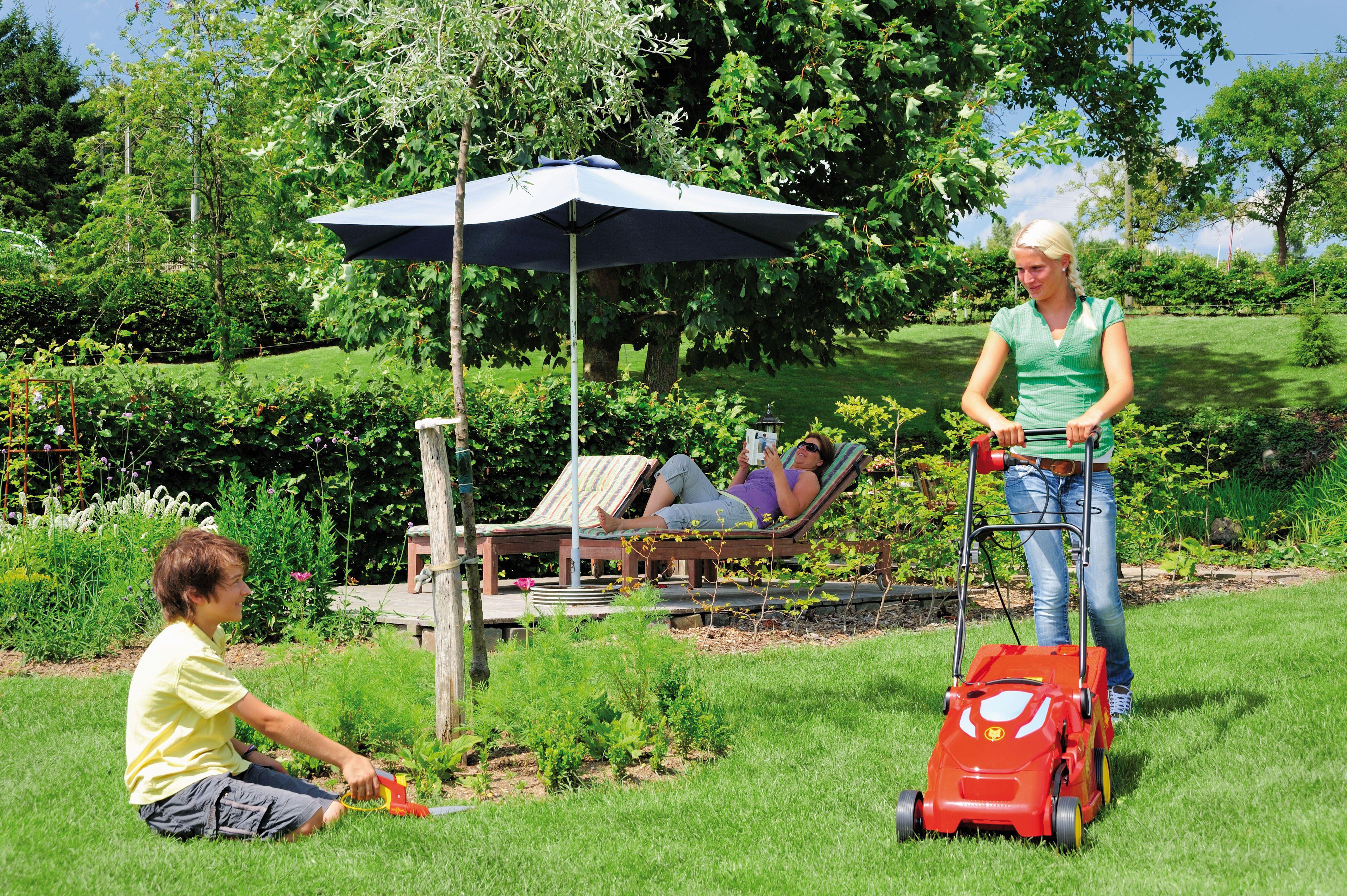 Wolf Garten Electric Bluepower 37e 2 Grass Clippings Mulching Garten