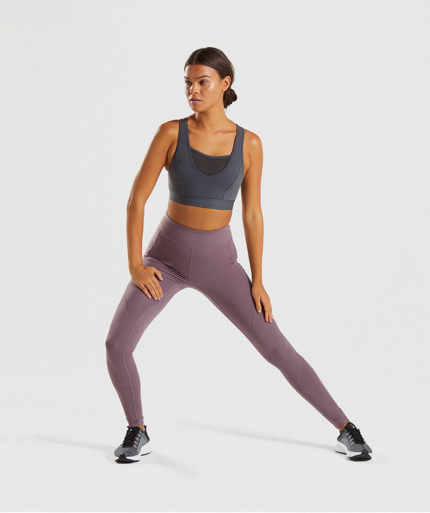 Gymshark Endurance Sports Bra Charcoal 2 Workout bras