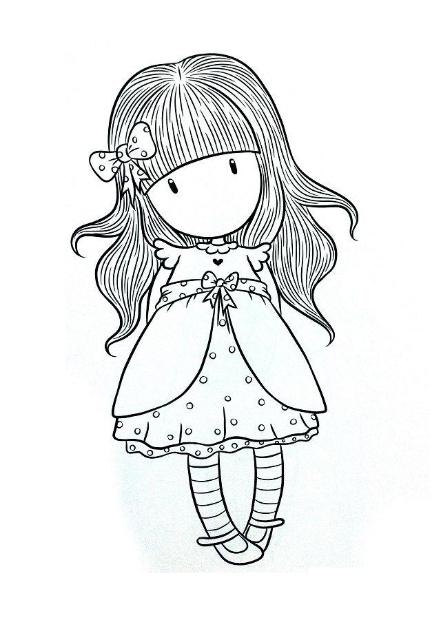 Gorjuss para colorear - Dibujos para colorear | gorjuss black/white ...