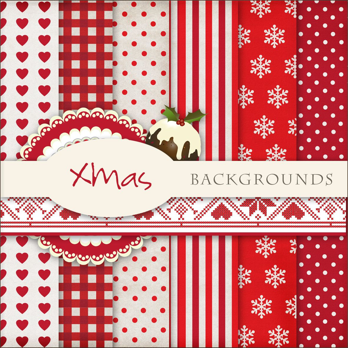 scrap. dot: new freebies xmas backgrounds | aa card-making info