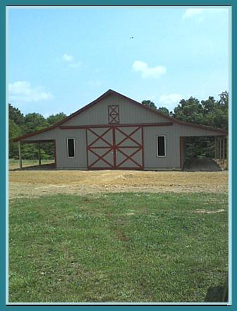 40 X 60 Pole Barn Home Designs Pole Buildings Pole