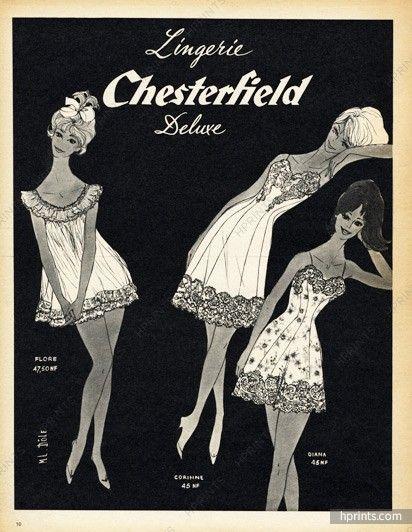 Chesterfield (Lingerie) 1960 M L Dôle