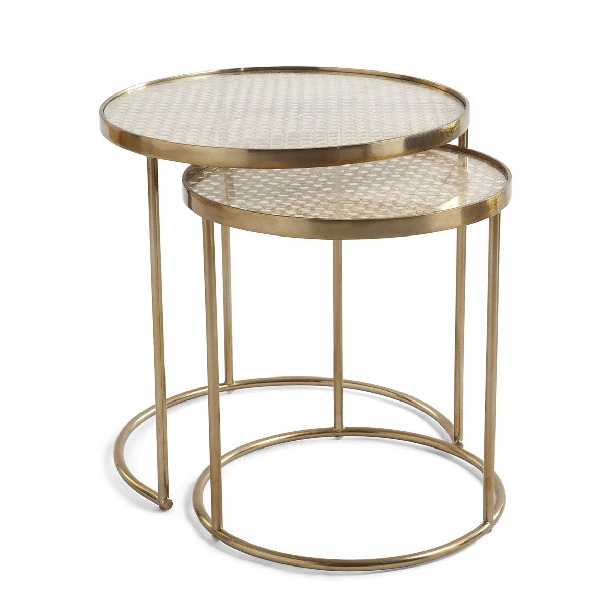 Tasmanian Tiger Look Alike Sprinkled Nest Interiors In 2021 Side Table Living Room Side Table Iron Frame Table [ 1200 x 1200 Pixel ]