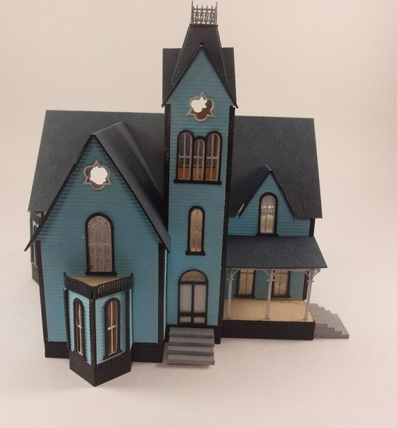 1 144 Scale Micro Mini Dollhouse For Your Dollhouse Artist Finished