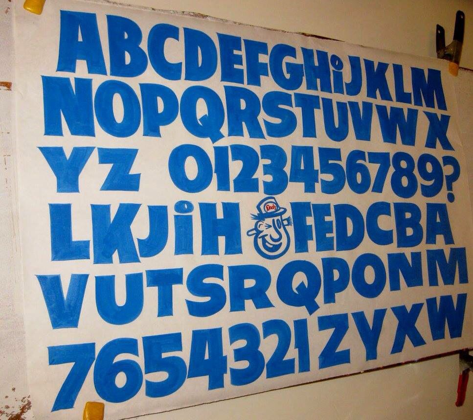 Hand painted sign    Paper Signs   Lettering fonts design