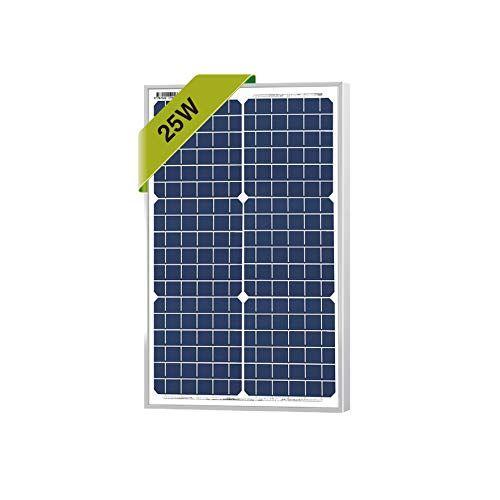 25 Watts Monocrystalline Newpowa 12v Mono Solar Panel
