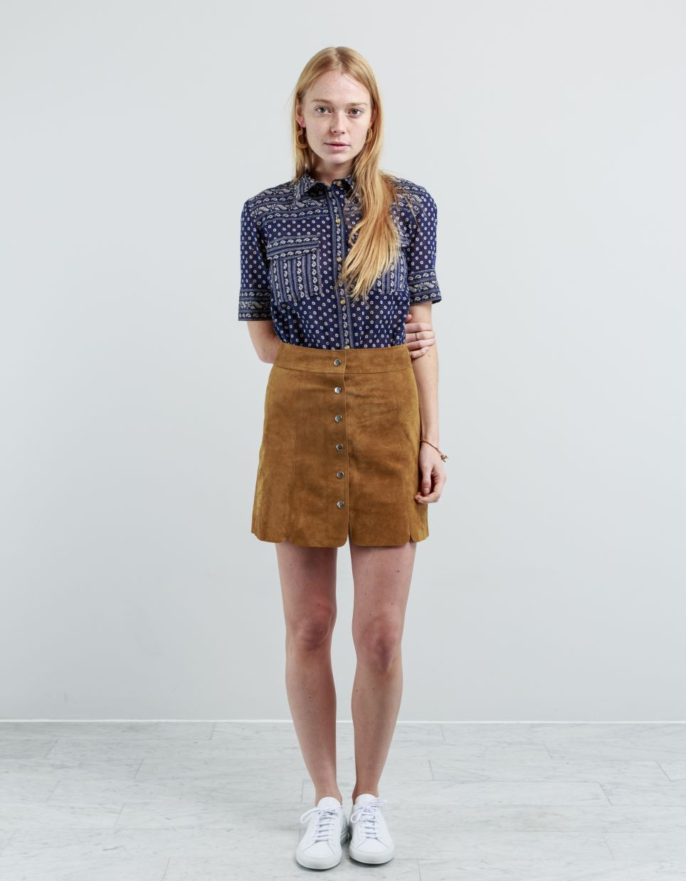 737bf90cc4 Isabel Marant Étoile Anna Suede Skirt - Nitty Gritty Store | Young ...