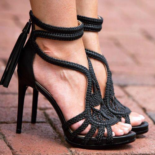 BCBGMAXAZRIA Dress Sandal Heels
