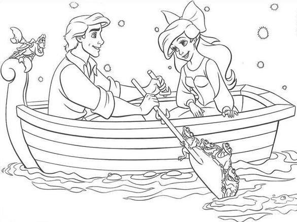 Ariel Eric A Pequena Sereia The Little Mermaid Mandalas And