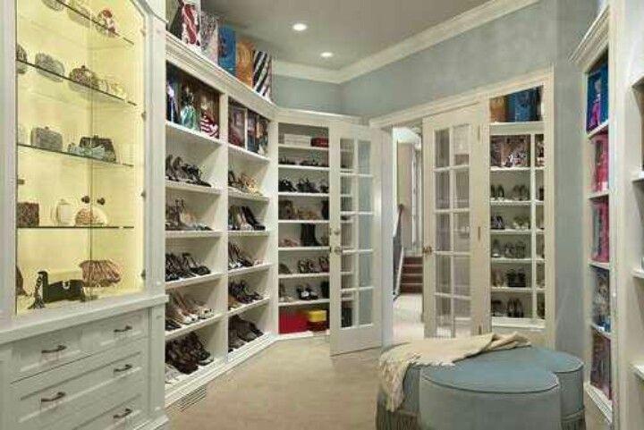 A Women S Dream Closet Walk In Closet Design Closet Design