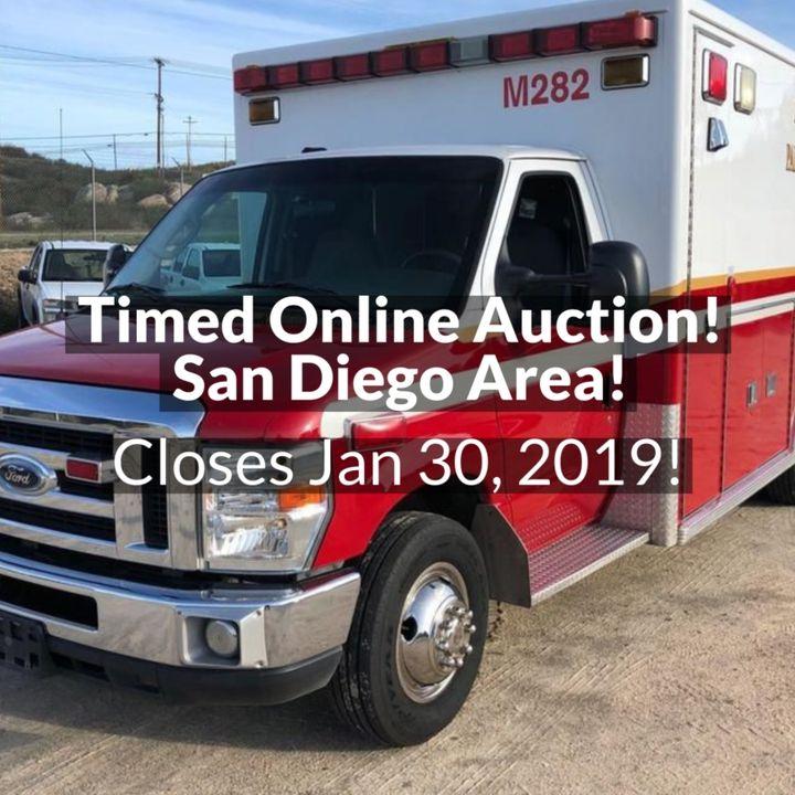 100 2nd Street, Ramona CA * SAN DIEGO COUNTY AREA AUCTION
