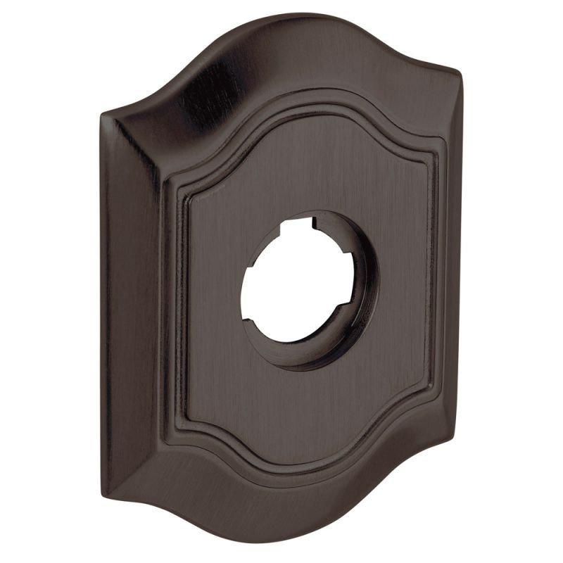 "Baldwin R027.IPV Individual 3.25"" Height Bethpage Privacy Rosette Venetian Bronze Part Estate Rosette Privacy Single"
