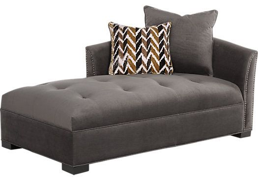 Picture Of Sofia Vergara Mandalay Charcoal Chaise From