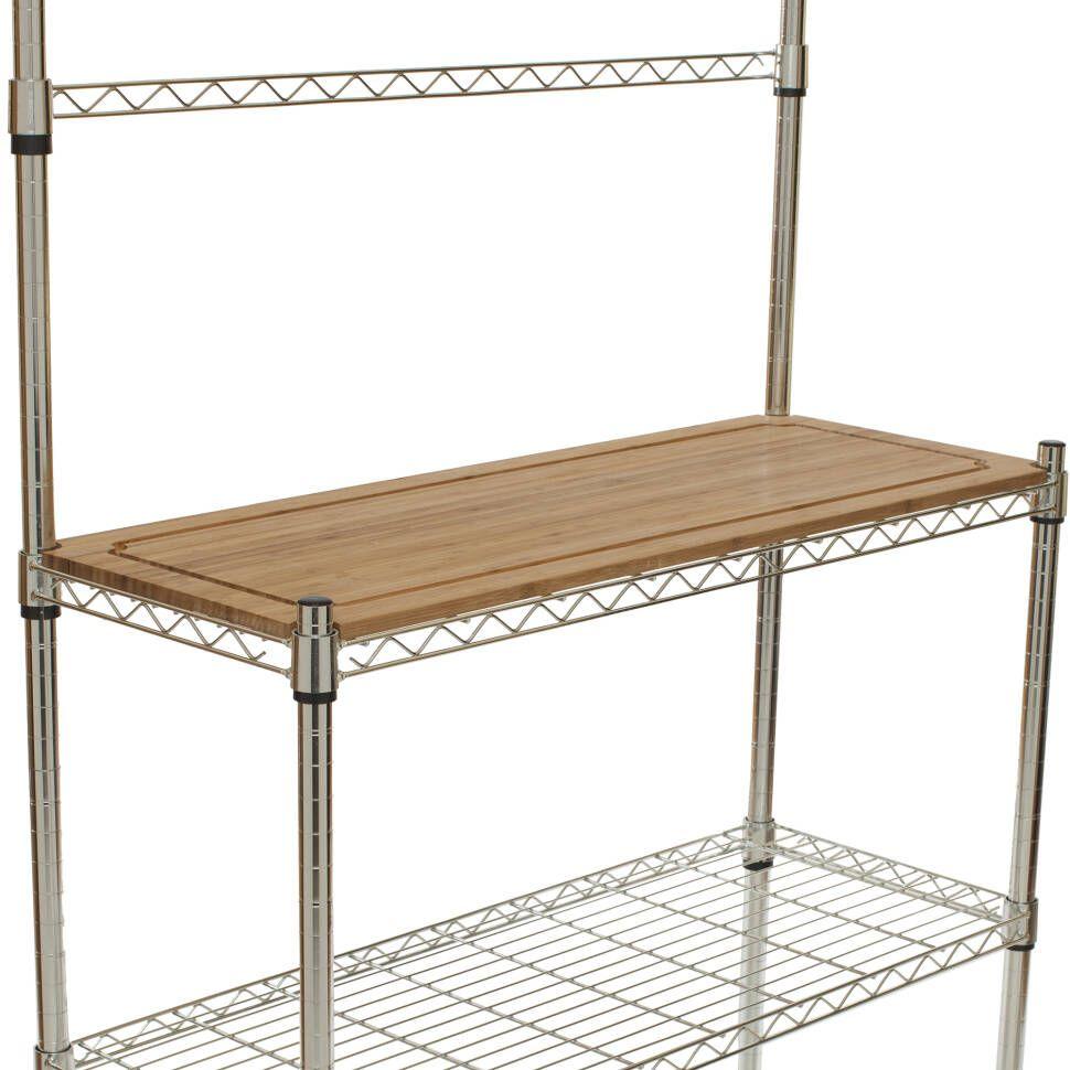 Enos Steel Chrome Baker S Rack Bakers Rack Rack Tiny Kitchen