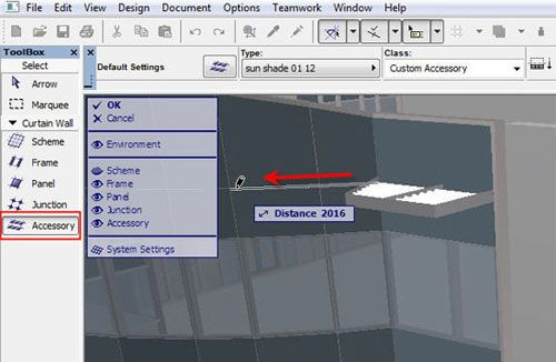 ArchiCAD canopy Mastering ArchiCAD\'s Curtain Wall Accessory and ...