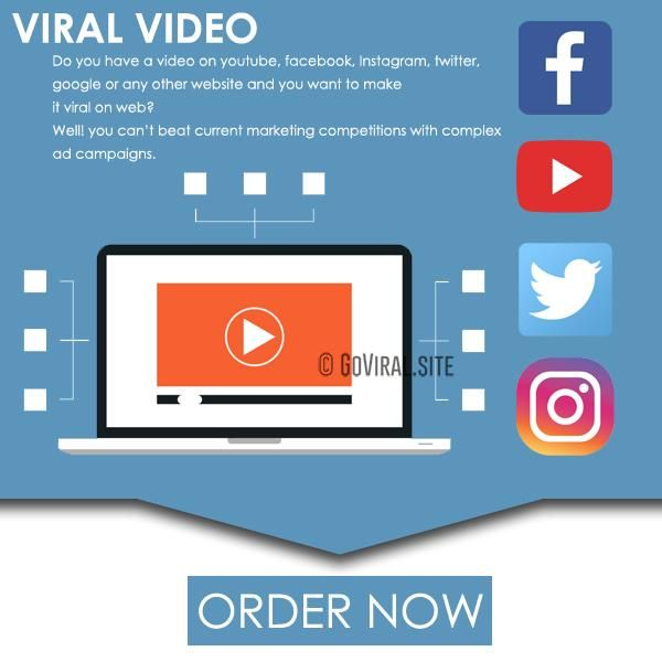 Viral Video Campaign Make Your Video Viral With Marketing Goviral Site Social Media Marketing Help Viral Videos Video Marketing