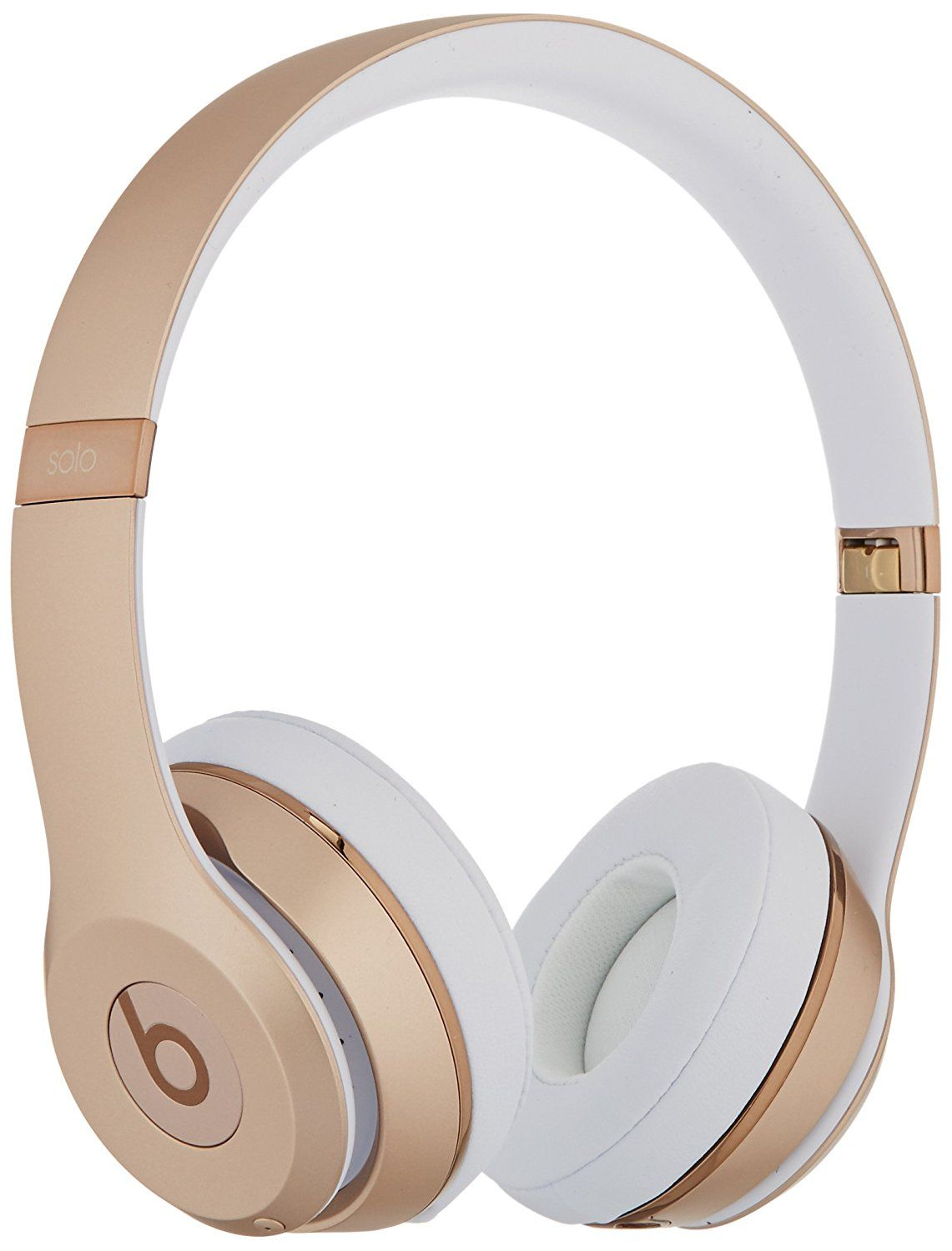 Amazon Com Beats Solo3 Wireless On Ear Headphones Gold Electronics Wireless Headphones Headphones Bluetooth Headphones