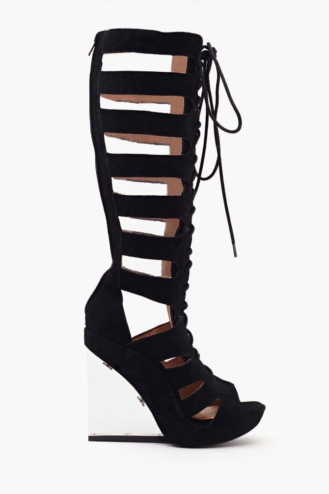 7e906e891c8c I need these in my life for no apparent reason. Rufa Gladiator Wedge ...