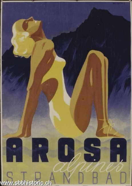 Arosa Strandbad - Arosa alpines Strandbad -