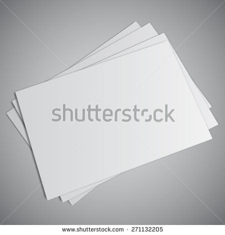 Stack of white business cards with blank space work blank stack of white business cards with blank space reheart Gallery