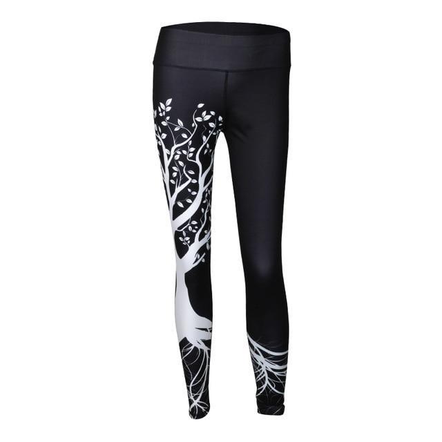 9e4e232bc2a9b Cherry Blossom Yoga Leggings | Products | Printed leggings, Sports ...