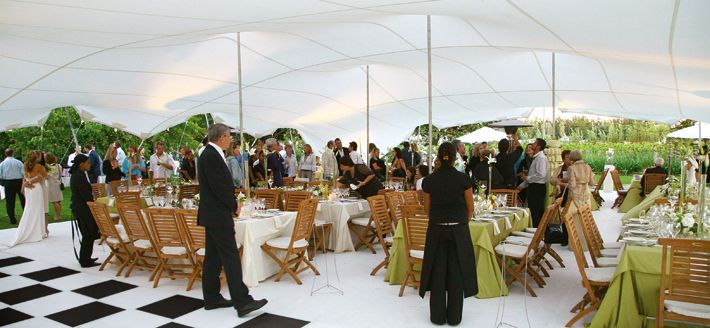 Stretch tent hire, the alternative to marquee hire in the ...
