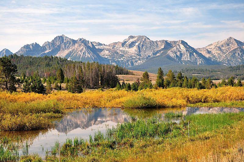 Sawtooth Mountains near Stanley, Idaho | Sawtooth mountains, Idaho travel,  Idaho adventure