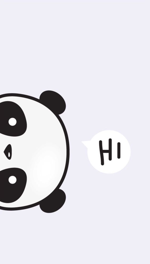 Animal Totems Panda Drawing Easy Iphone Wallpapers Ideas Papo Rainbows Kawaii Backgrounds Stripes