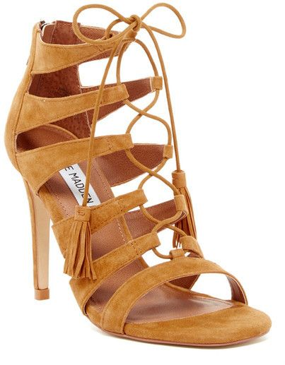 c46b31eef1b98 Steve Madden Faraah Laced Bootie | Lesley and Eve's Shoe Love ...