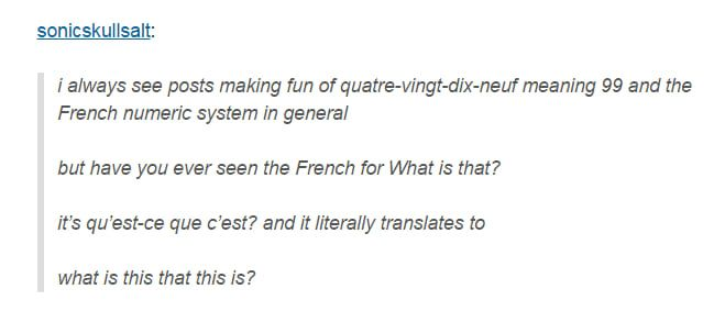 Each Language Has Its Quirks How To Speak French Tumblr Funny Learn French