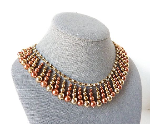 Hey, I found this really awesome Etsy listing at https://www.etsy.com/listing/287040169/vintage-beaded-rhinestone-necklace-in