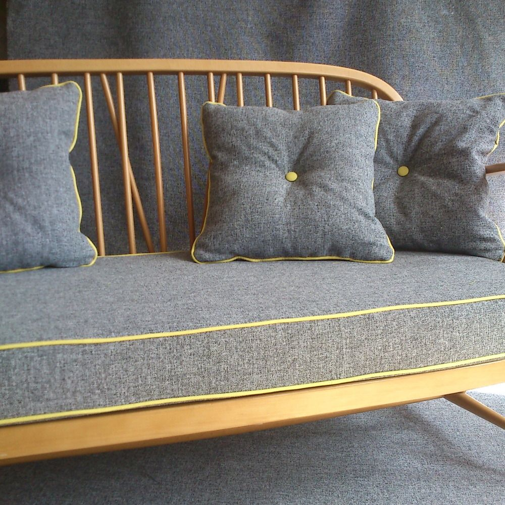 Image of ercol two seater blonde shameless self promotion - Cojines de diseno ...