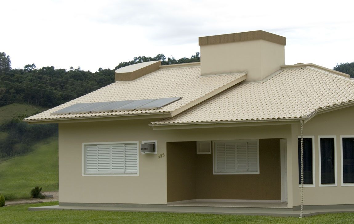 Telha shingle ou telhado americano telhados telhas e for Casa modelo americano