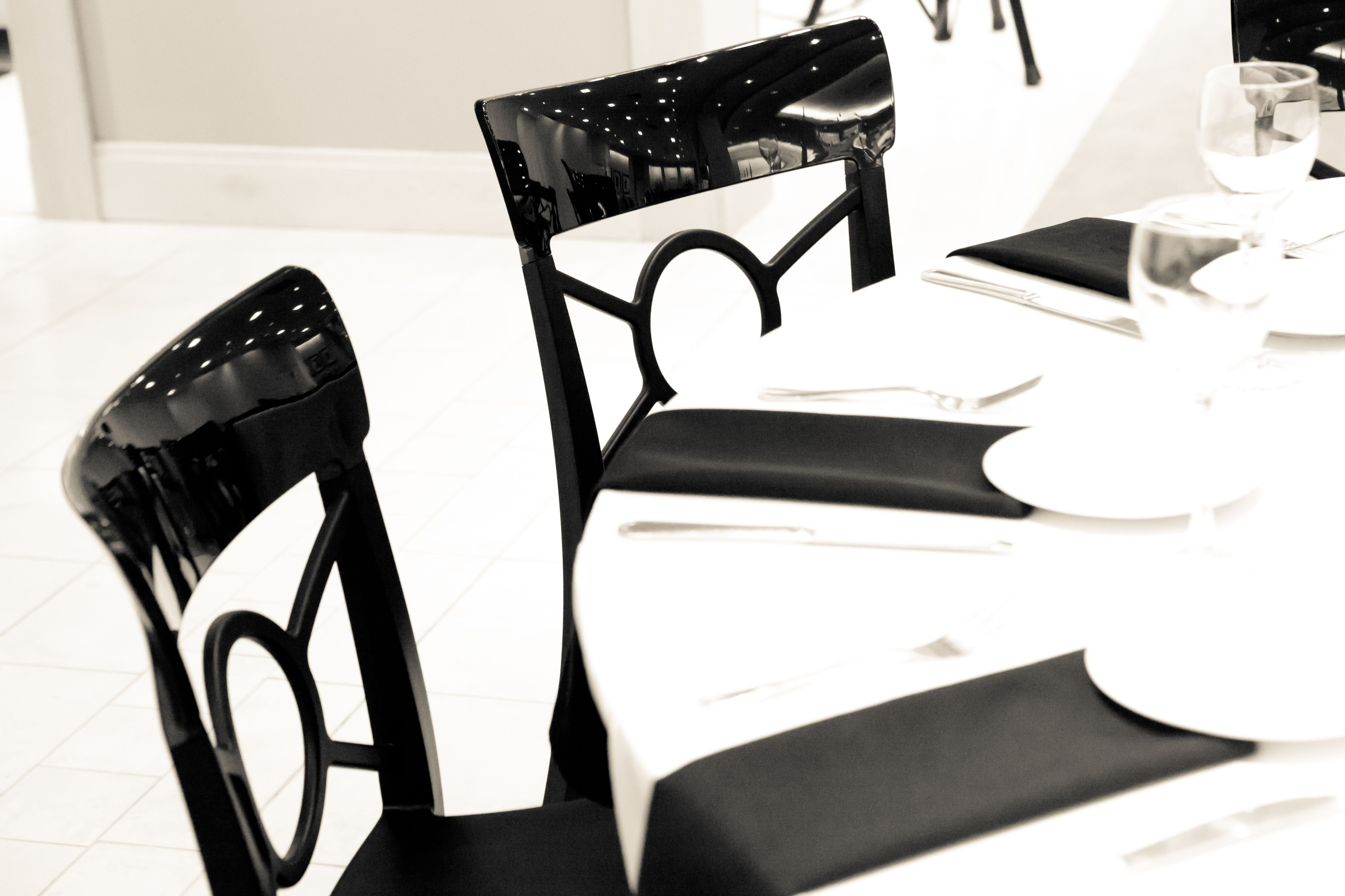 VF Black Tuxedo Chairs Http://www.chiavarichairs.com/vision