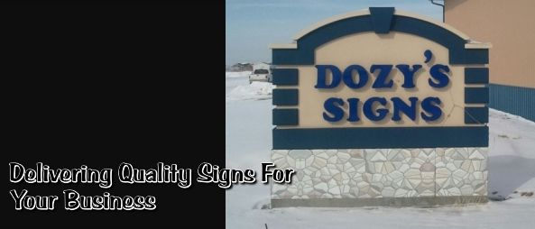 DOZY'S SIGNS An official sponsor of the Scavenger's