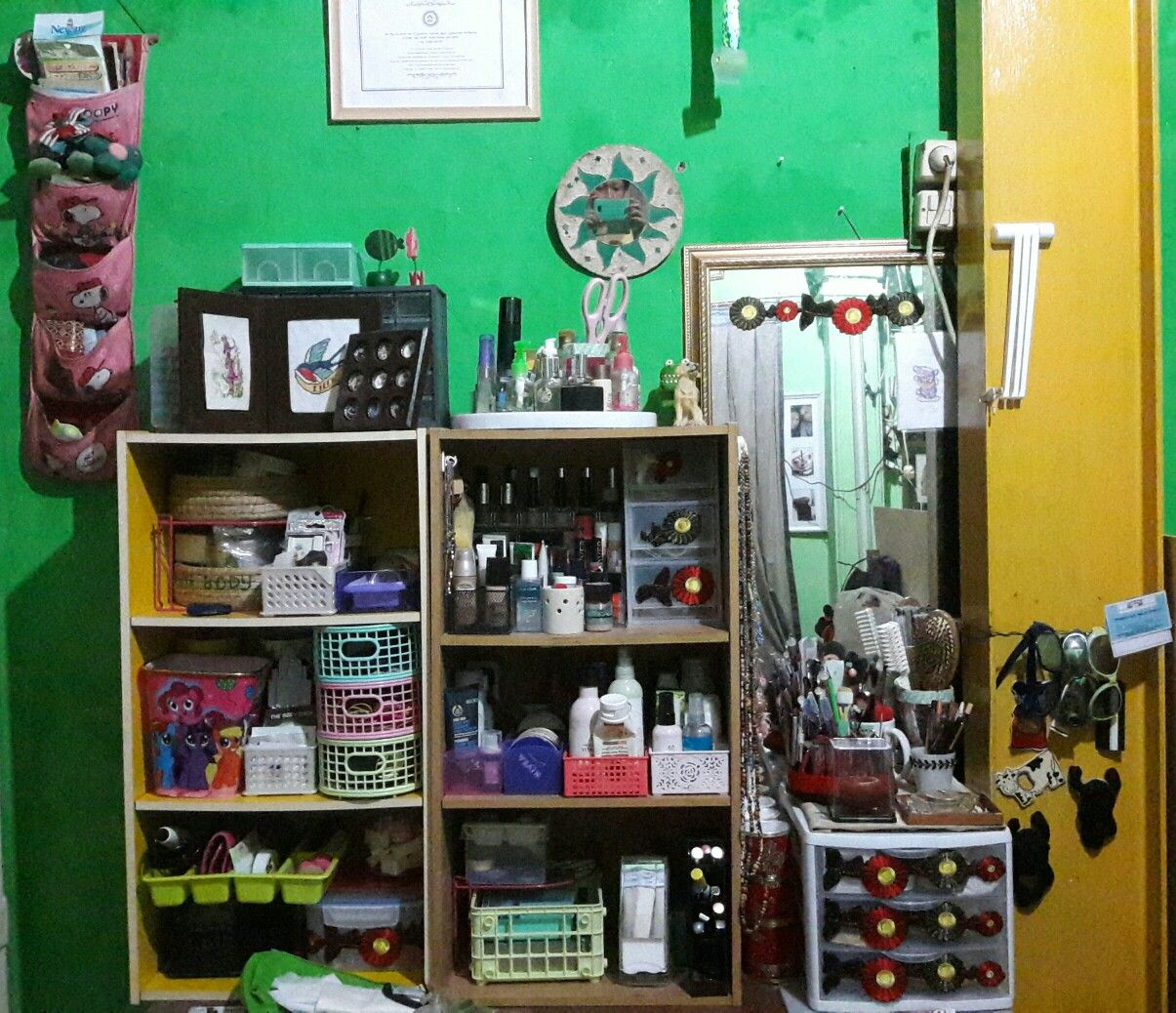 Still a mesh but not to bad organized pinterest organizing