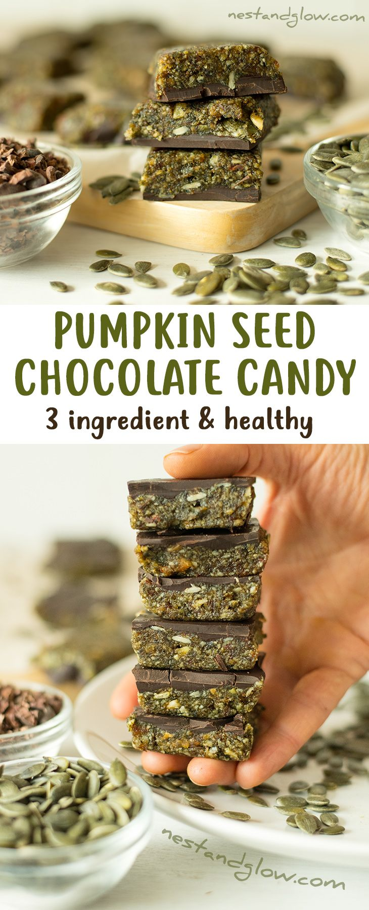 3 Ingredient Pumpkin Seed Chocolate Candy Is The Healthy Treat To Try