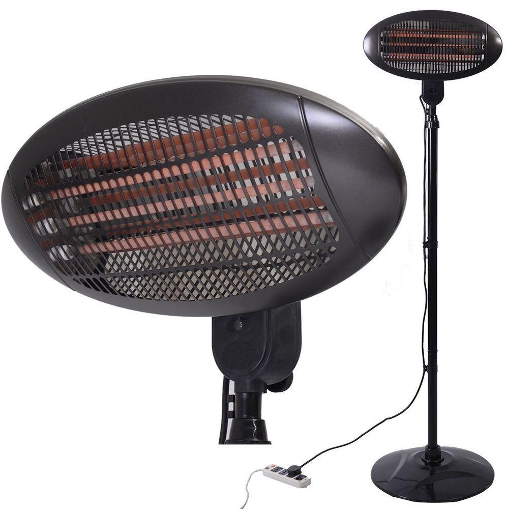 Portable Electric Heater Adjustable Heat Patio Heaters ...