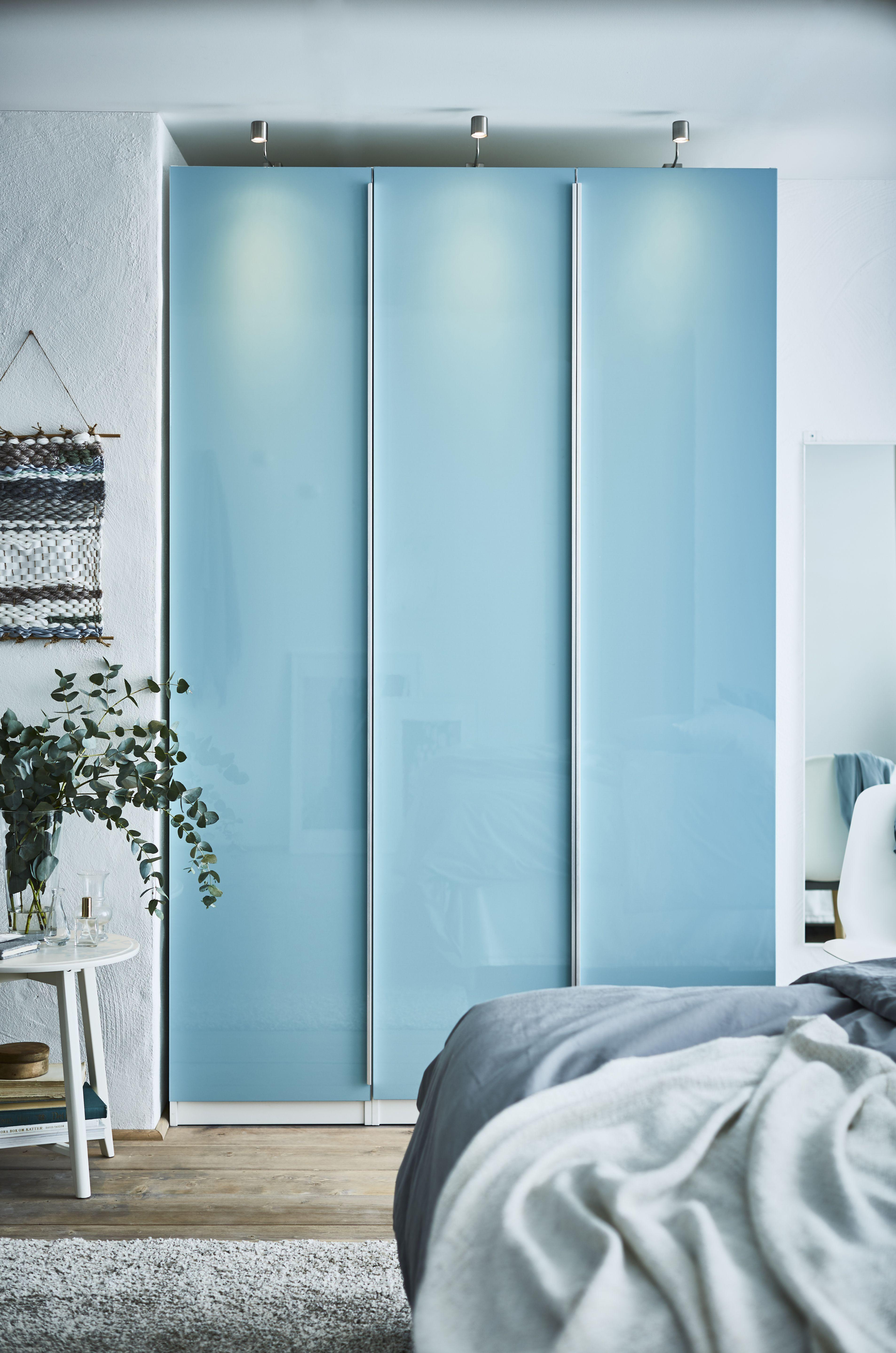 Ikea pax türen hochglanz  FARDAL Tür, Hochglanz helltürkis