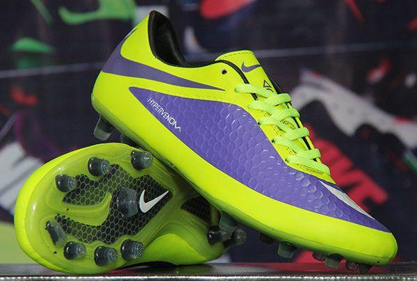 Sepatu Bola Nike Hypervenom Biru Hijau Stabilo Rp 135 000 Bb
