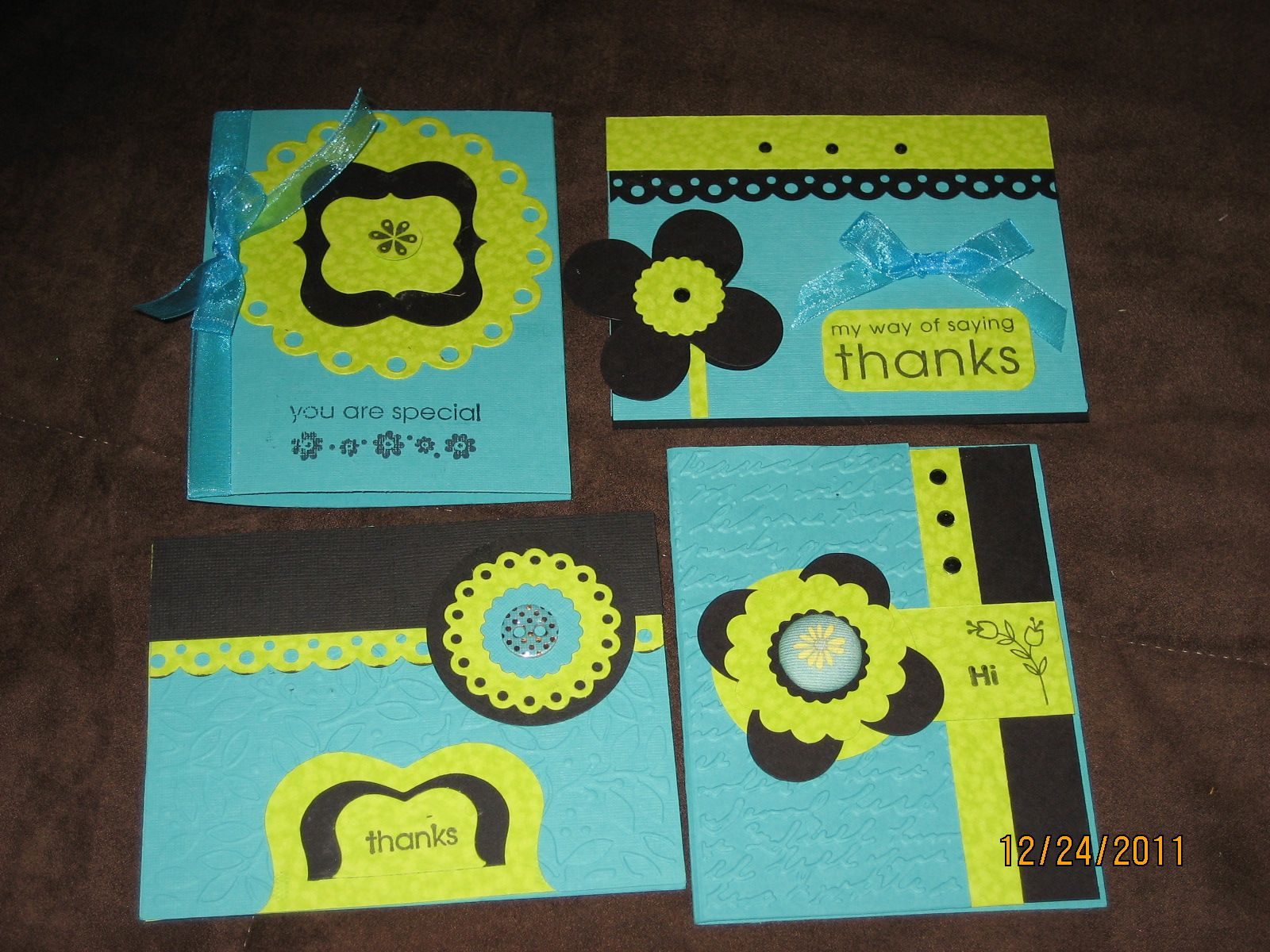 thank you cards- made by me