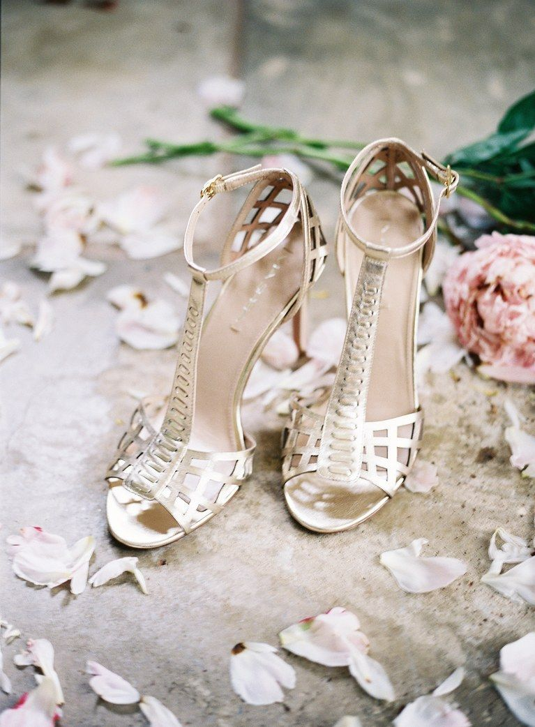 fa95b62319b0 These 30 Real Brides Wore the Coolest Shoes