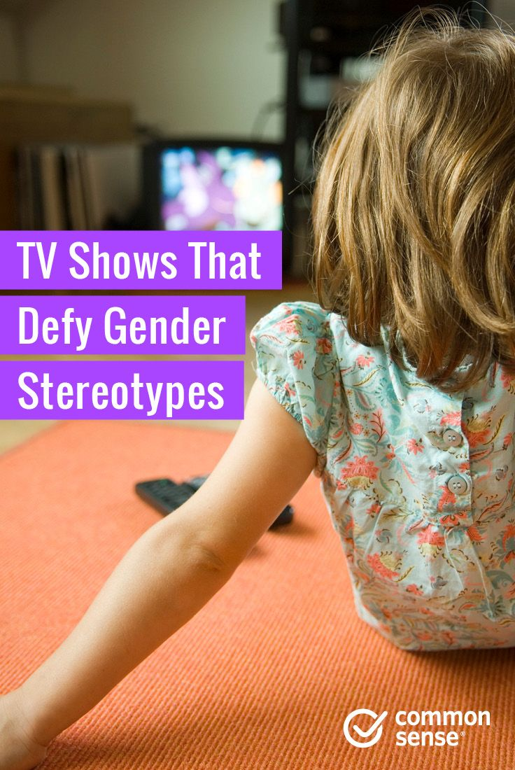 gender stereotypes in television